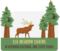 Elk Meadow Cabins Logo